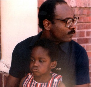 Chris Gardner and son
